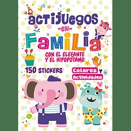 Actijuegos En Familia Con El Elefante Y El Hipopotamo