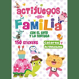 Actijuegos En Familia Con El Gato Y La Tortuga