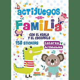 Actijuegos En Familia Con El Koala Y El Cocodrilo