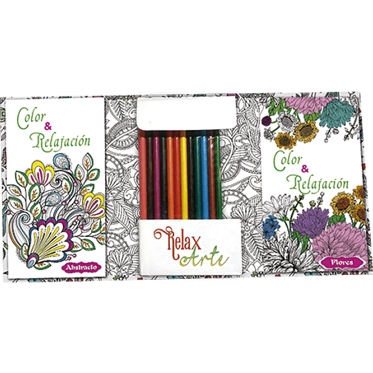 Mandalas Kit De Arte Color Y Relajacion