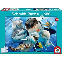 Puzzle Amigos Subacuaticos 200 Piezas
