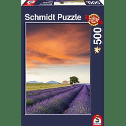 Puzzle Lavanda 500 Piezas