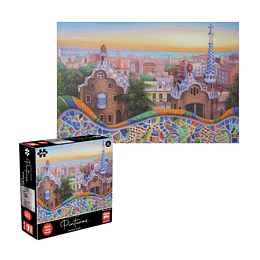 Puzzle Pinturas Barcelona 1000 Piezas
