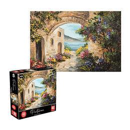 Puzzle Pinturas Grecia 1000 Piezas