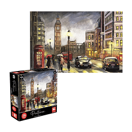 Puzzle Pinturas Londres 1000 Piezas