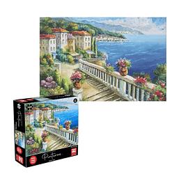 Puzzle Pinturas Mediterraneo 1000 Piezas