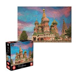 Puzzle Pinturas Moscu 1000 Piezas
