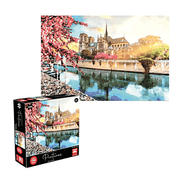 Puzzle Pinturas Paris 1000 Piezas