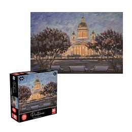 Puzzle Pinturas San Petersburgo 1000 Piezas
