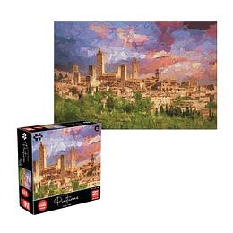 Puzzle Pinturas Toscana 1000 Piezas