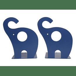 Sujetalibros Elefante Azul