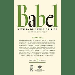 Babel 3 Revista De Arte Y Critica