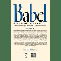 Babel 6 Revista De Arte Y Critica