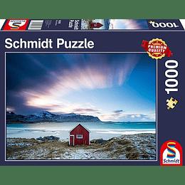 Puzzle Cabaña En La Costa 1000 Piezas