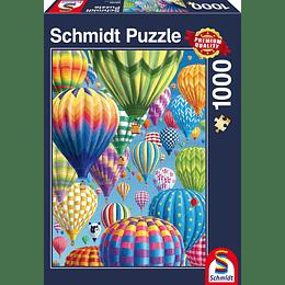 Puzzle Globos 1000 Piezas