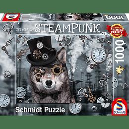 Puzzle Lobo Steampunk 1000 Piezas