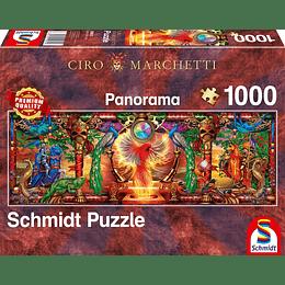 Puzzle Pajaro De Fuego 1000 Piezas