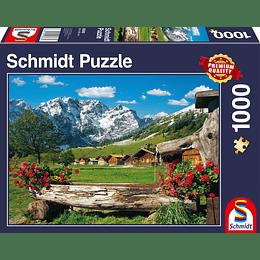 Puzzle Paraiso En Las Montañas 1000 Piezas
