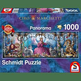 Puzzle Princesa Y Lobos 1000 Piezas