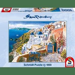 Puzzle Santorini 1000 Piezas