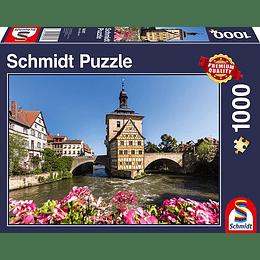 Puzzle Antiguo Ayuntamiento 1000 Piezas