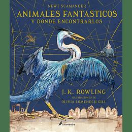 Animales Fantasticos Y Donde Encontrarlos. Edicion Ilustrada