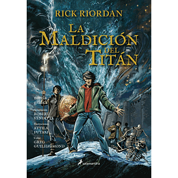 Percy Jackson 3. La Maldicion Del Titan (Novela Grafica)