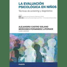 La Evaluacion Psicologica En Niños. Tecnicas De Screening Y Diagnostico