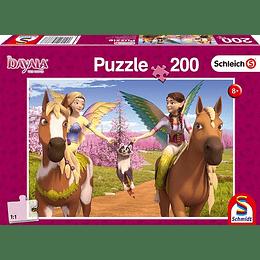 Puzzle Bayala Hadas A Caballo 200 Piezas