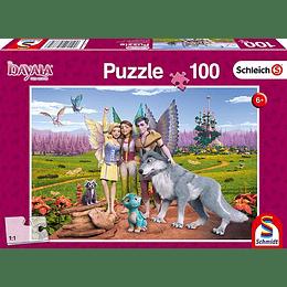 Puzzle Bayala Hadas Y El Lobo 100 Piezas