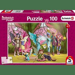 Puzzle Bayala Reina Eleya 100 Piezas