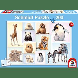 Puzzle Cachorros Salvajes 200 Piezas
