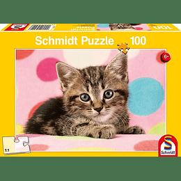 Puzzle Gatito 100 Piezas