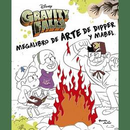 Gravity Falls Megalibro De Arte De Dipper Y Mabel