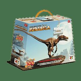 Puzzle 100 Dinosaurios Deinonychus Antirrhopus