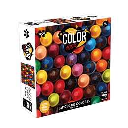 Puzzle Color 1000 Piezas Lapices De Colores