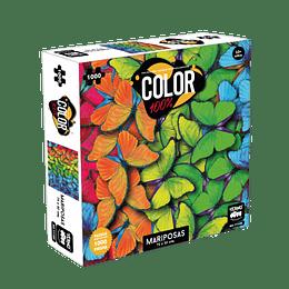 Puzzle Color 1000 Piezas Mariposas