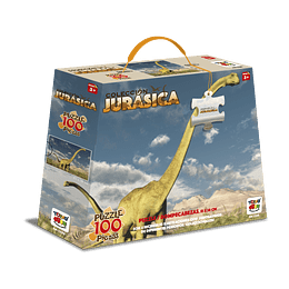 Puzzle 100 Piezas Dinosaurios Brachiosaurus Altithorax