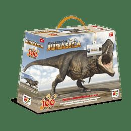 Puzzle 100 Piezas Dinosaurios Tyrannosaurus Rex