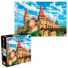 Puzzle 2000 Piezas Castillo De Hunyad Rumania