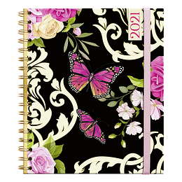 Agenda Butterfly  Semanal Cuaderno 2021