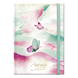Agenda Acuarela Diaria Book 2021