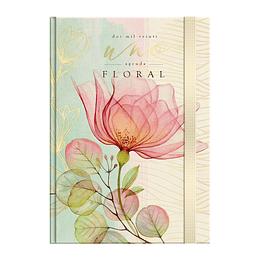 Agenda Floral Diaria Book 2021