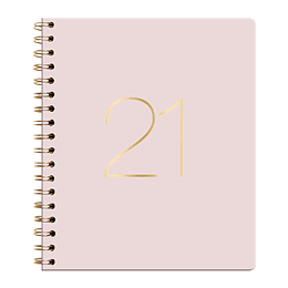 Agenda Ecocuero Semanal Cuaderno 2021 Rosado