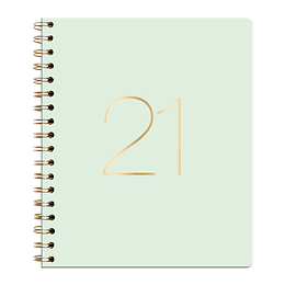 Agenda Ecocuero Semanal Cuaderno 2021 Celeste