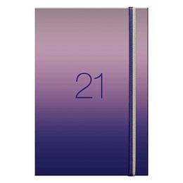 Agenda Holografica Semanal A5 2021 Azul