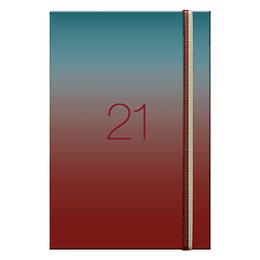 Agenda Holografica Semanal A5 2021 Rojo
