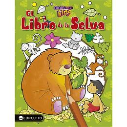 Colorearte Kids. El Libro De La Selva