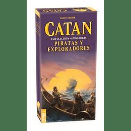 Catan Amplicacion. Piratas Y Exploradores
