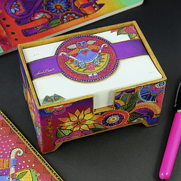 Taco De Notas C/Caja Colorful